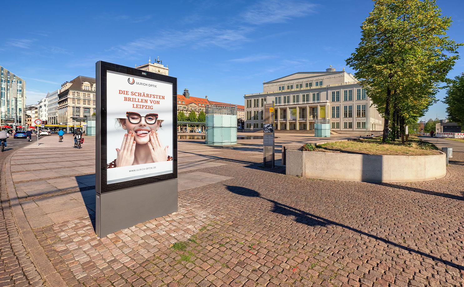 Werbeagentur Leipzig - dreipunkt - Out-of-Home: Außenwerbung trifft.